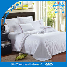 100% Pure Egyptian cotton DUVET COVER SET FULL / QUEEN WHITE SOLID Pillow Sham
