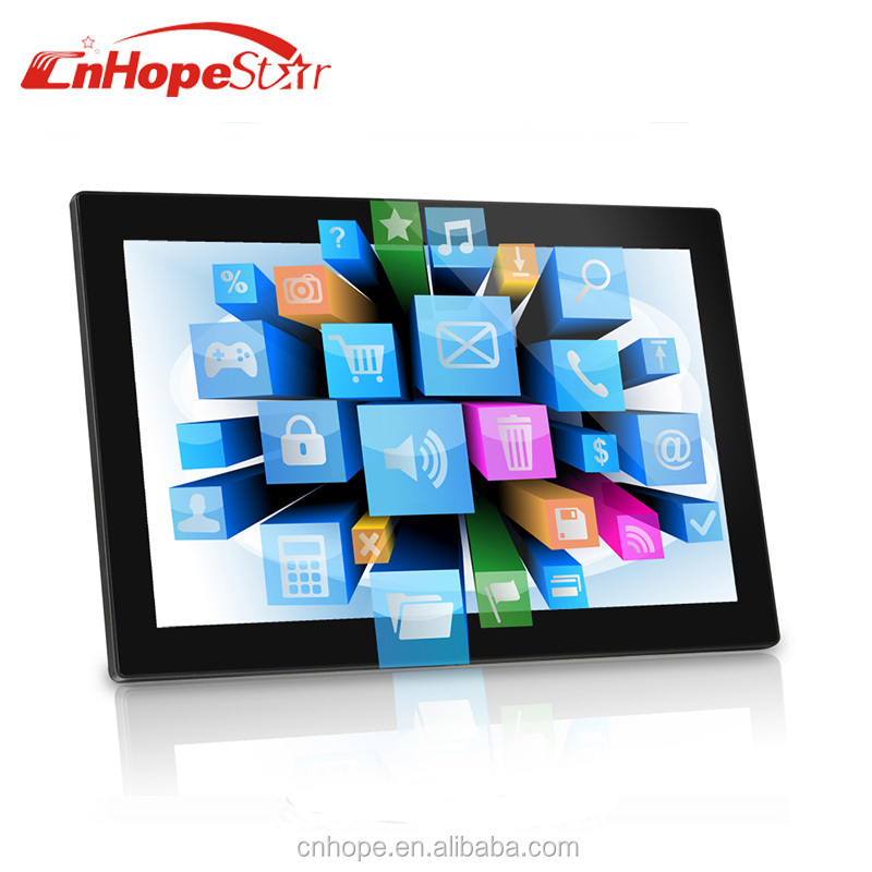 3G built-in WiFi All in one touch screen tablet PC/Advertising players 18.5 21.5 inch