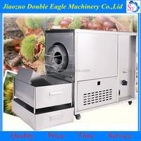 Industrial stainless steel no oil frying machine/used peanuts roasting machine
