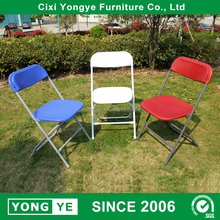 wholesale white school event folding plastic stacking outdoor chair
