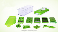 One Step Precision Cutting Multi Salad Chef Manual Vegetable Fruit Cutter Multi-function Dicer