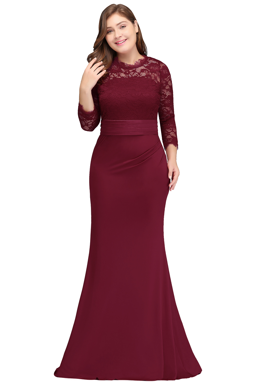 robe de soiree longue Plus Size Evening Dresses 2019 Cheap Red Royal Blue  Long Mermaid Evening Party Gown Dress Vestido De Festa 559913596fbf