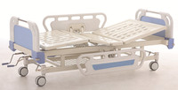 hospital adjustable beds, 2 cranks manual cheap hospital bed
