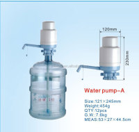 hand pump 5 gallon water bottle drinking water dispenser pump