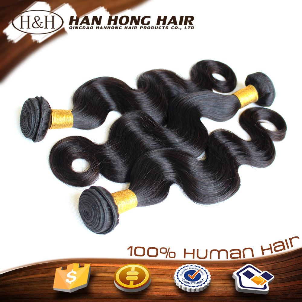 unprocessed 3 bundles hair weft hair weave hight quality wholesale hair accessories
