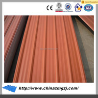 Chinese low price metal building materials corrugated steel sheet color coating roofing sheets