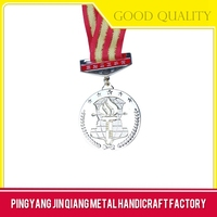 Custom die casting military pin badge