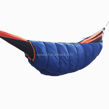 wind hammock thermal sleeping bag double zipper hollow cotton camping
