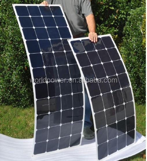 chine land semi panneau solaire flexible 70 w 100 w 120 w 20 140 w cellules solaires. Black Bedroom Furniture Sets. Home Design Ideas