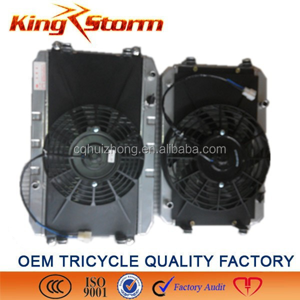 Cheap sale OEM approvel High Performance auto parts motorcycle /tricycle radiator aluminum