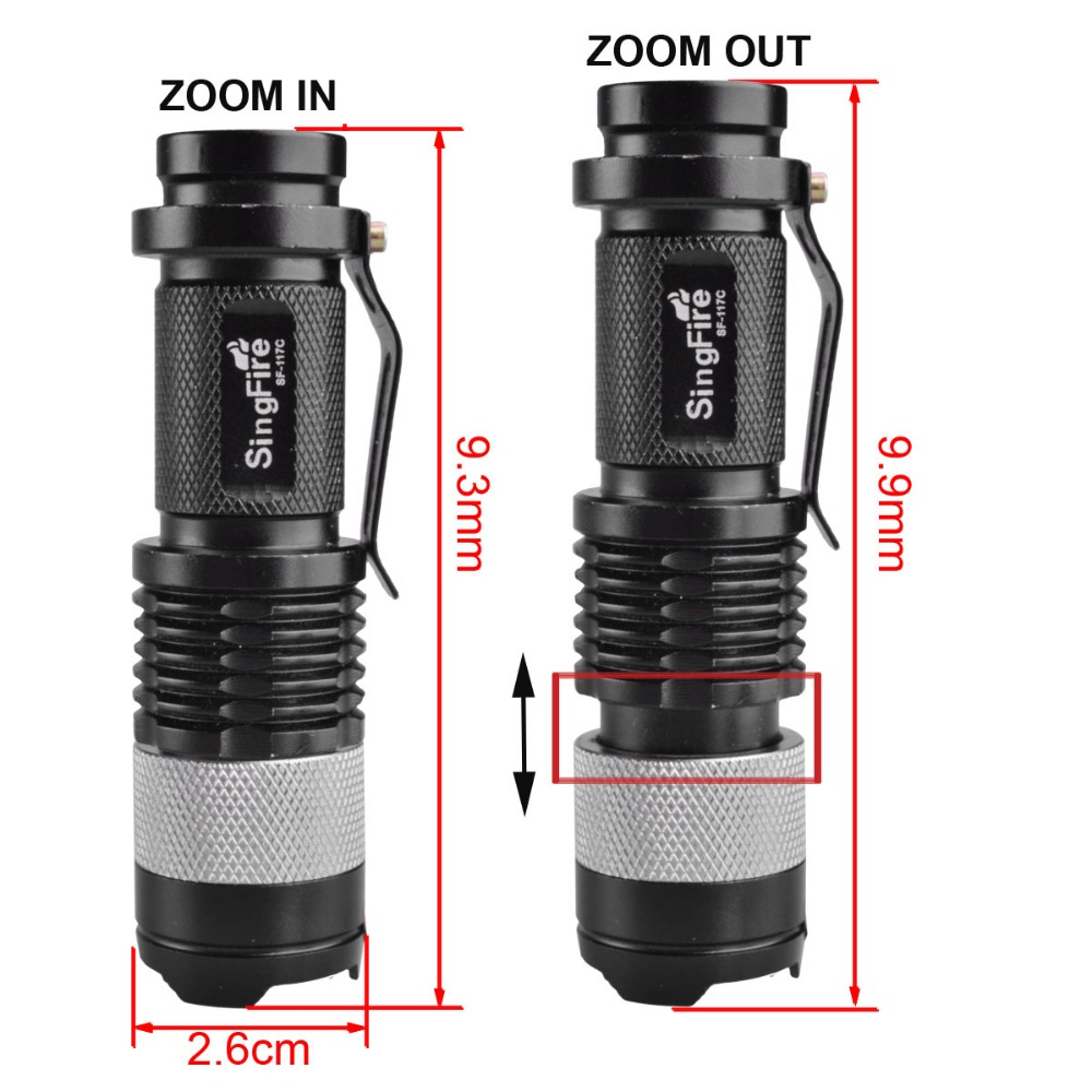 Cute size zoom led outdoor lighting ,led torch light manufacturers,touch power light