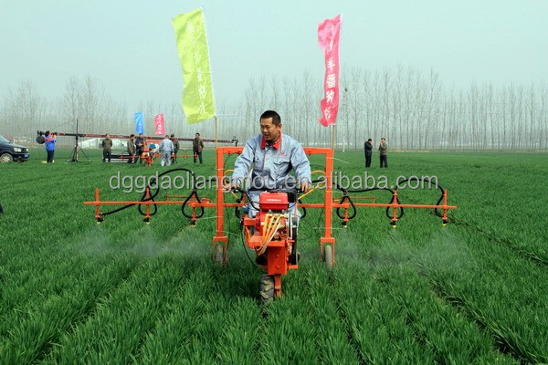 Farm tools and equipment names sprayer with gasoline diesel engine
