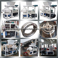 75kw ring die automatic lubricating system animal feed pellet making machine