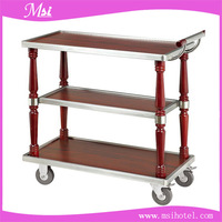 2016 New Design Hotel Beverage Trolly Room Service Cart with Factory Direct Price