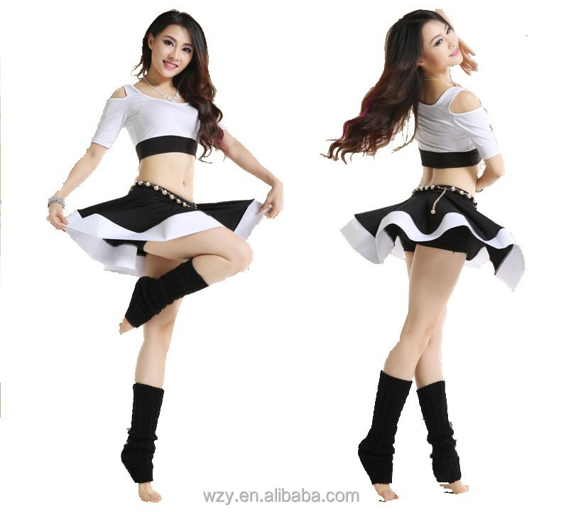 Youth girls dance practise wear Belly Dance costumes india dance costume