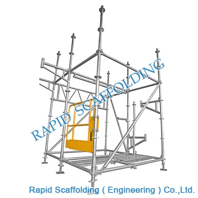 Construction Building Ringlock System Scaffolding for Sales