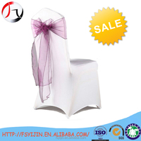 hot sale elastic spandex banquet chair cover