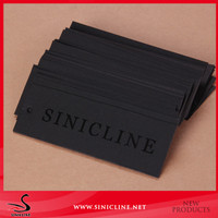 Black UV Coating Paper Hangtag from Chinese Manufacturer