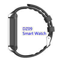 2016 Low price bluetooth smartwatch dz09 sim card smart watch phone dz09 smartwatch