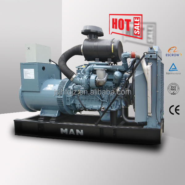 Fast delivery Europe Origin Germany MAN engine 350kw diesel power generator 450kva electric generator