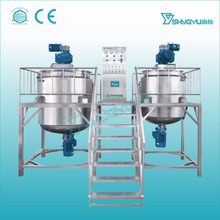 316Stainless Steel liquid Detergent shampoo, liquid soap chemicals for making liquid soap Homogenizing Mixer Blending Machine