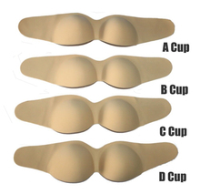 High quality <strong>Sexy</strong> Invisible breathable Strapless Self adhesive Silicon Bra