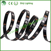 SJ1211 12V smart rgb individully computer control 2815 led pixel strip 50m