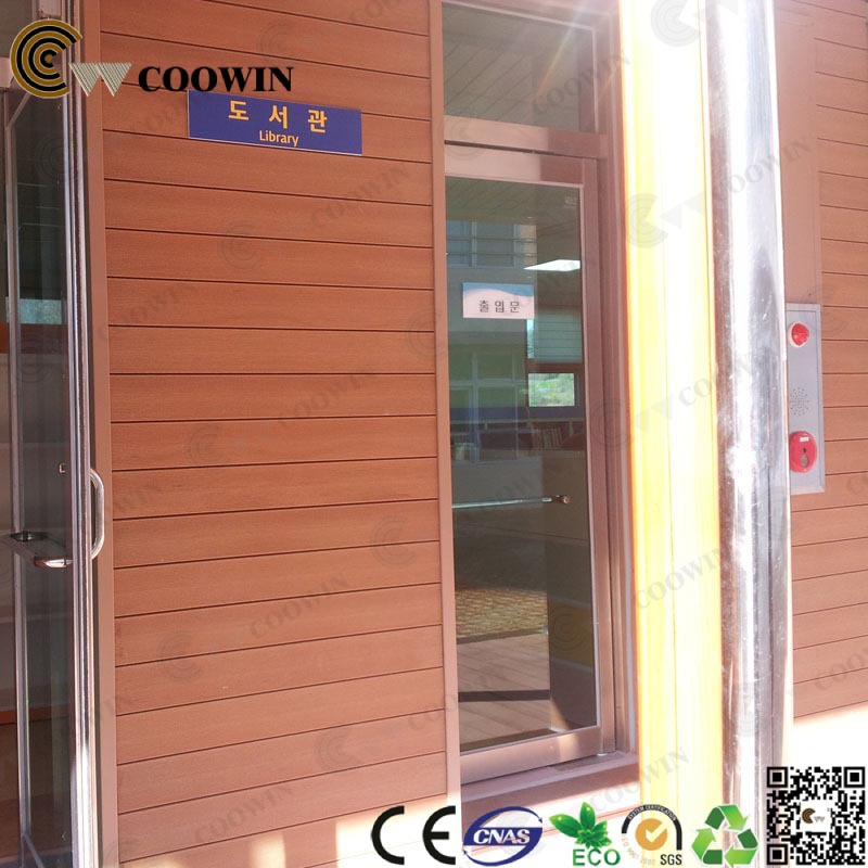 Prefabricated house exterior wall panels