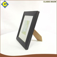 Wholesale cheap black rimmed white background picture photo frame