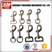 snap buckle metal key chain snap hook
