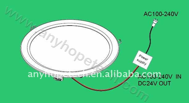 surface mounted led ceiling light 10.83 inch large diameter 18.25Watt