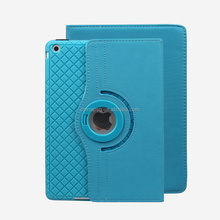 Fashionable 360 Degree Rotation Pu Leather Smart Case for Ipad Air