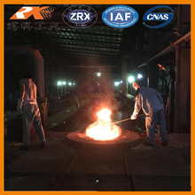 1-60 tons iron/steel induction melting furnace with hydraulic pouring