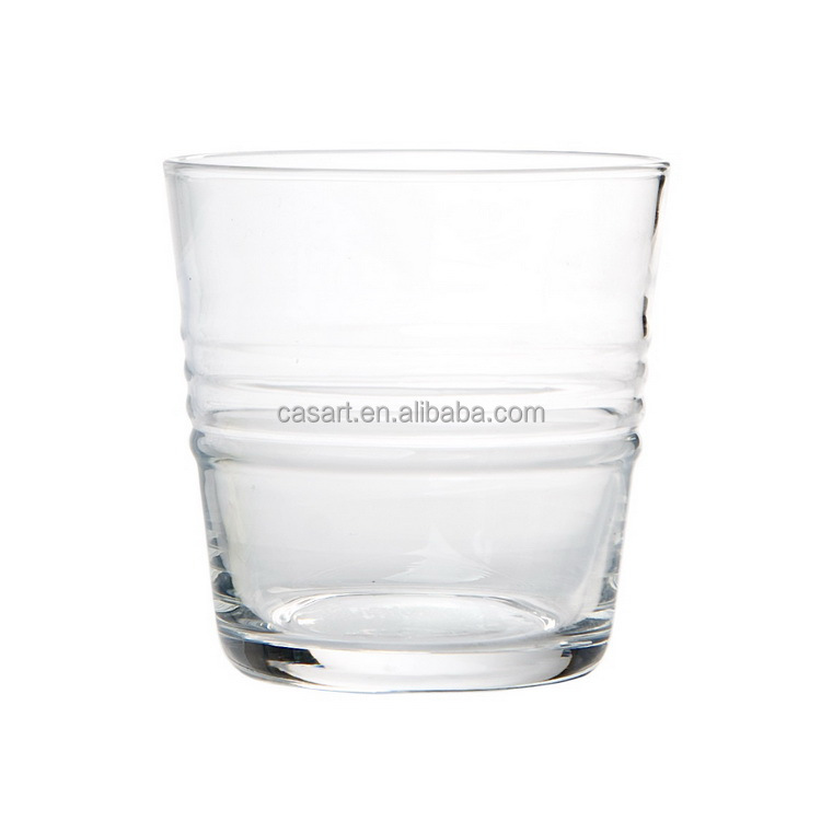Casart Hot sale clear glass tumbler ,Whiskey DOF