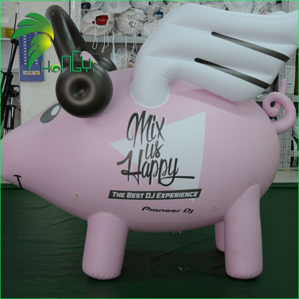Event Decoration Inflatable Pig ,Inflatable Flying Pig Balloon