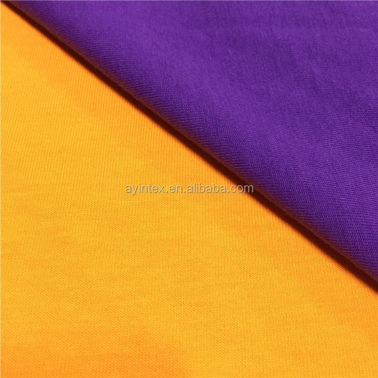 Best selling hot chinese products superior quality cotton single jersey fabric