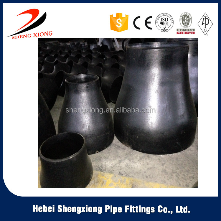 China low price products black paint carbon steel reducer supplier on alibaba