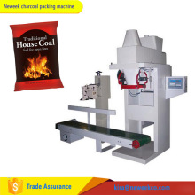 NEWEEK vertical weighing auto sewing bag cassava charcoal packing machine for sale