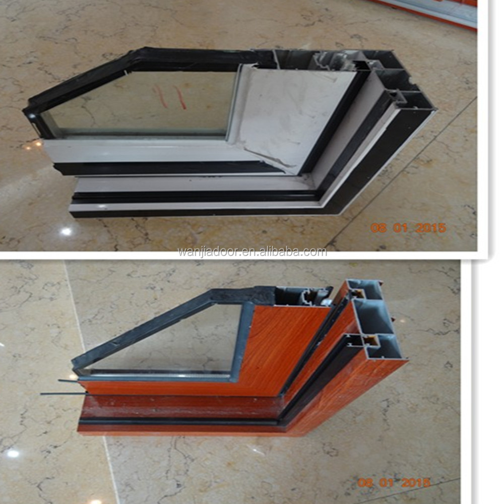 Good price aluminum horizontal blinds sliding glass doors for Aluminum sliding glass doors price
