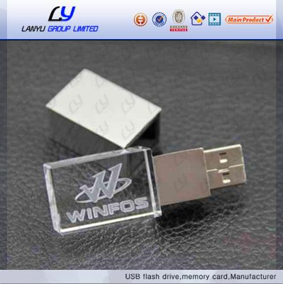 Promotional gift bulk Cheap popular creative new item gadgets Custom logo cute metal crystal usb flash drive