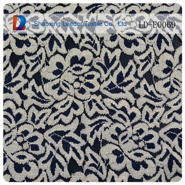 high quality customized colored lace fabric elastic for underwear lingerie fashionable