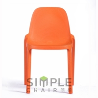 famous design modern appearance plastic outdoor chair for garden use