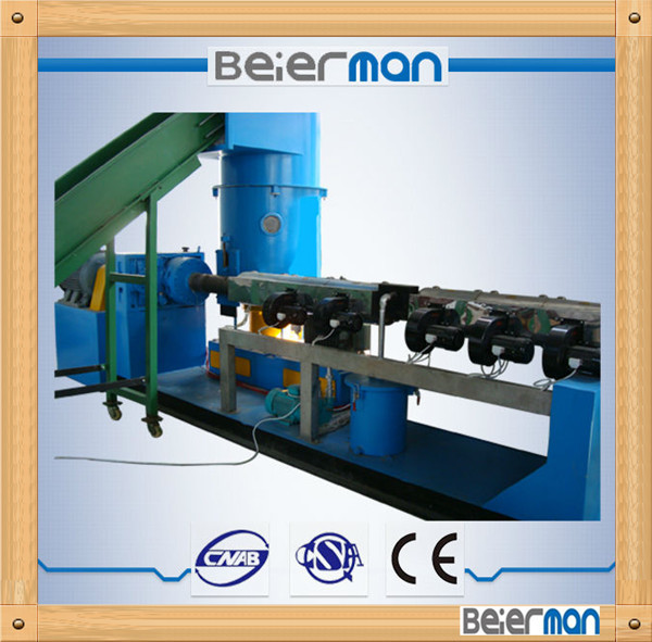 ZHANGJIAGANG Made High Quality Plastic granulating line for films recycling