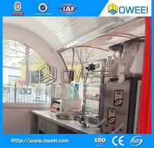 multi-functional fiberglass enclosed food trailer for sale for sale