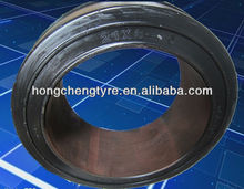 21*8-15 otr forklift solid tire with smooth tread pattern