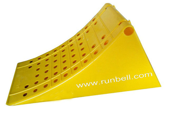 Rubber Aircraft Wheel Chock Stopper