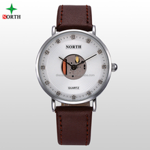 stainless steel back and case wristwatches mechanical watch