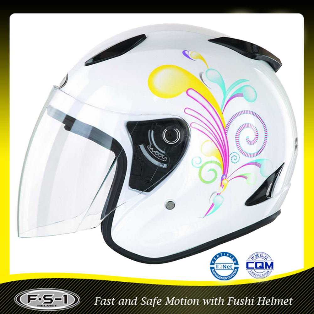 DOT design snell open face helmet for motorcycle helmet