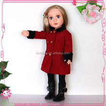"18"" hot sell real baby vinyl doll girl doll wholesale"