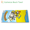 promotional soft feel fashionable 100% cotton beach towel
